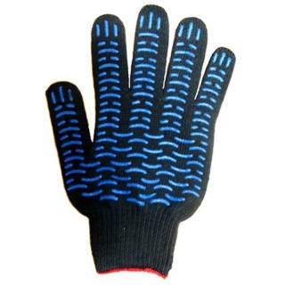Перчатки рабочие х/б ЭКСТРА 5 нитей с ПВХ покрытием Волна