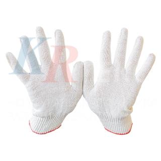 Рабочие перчатки х/б ЭКСТРА 10 класс 5 нитей без ПВХ покрытия